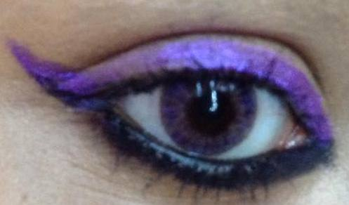 Convert any Eyeshadow into a Liquid Eye Liner!!