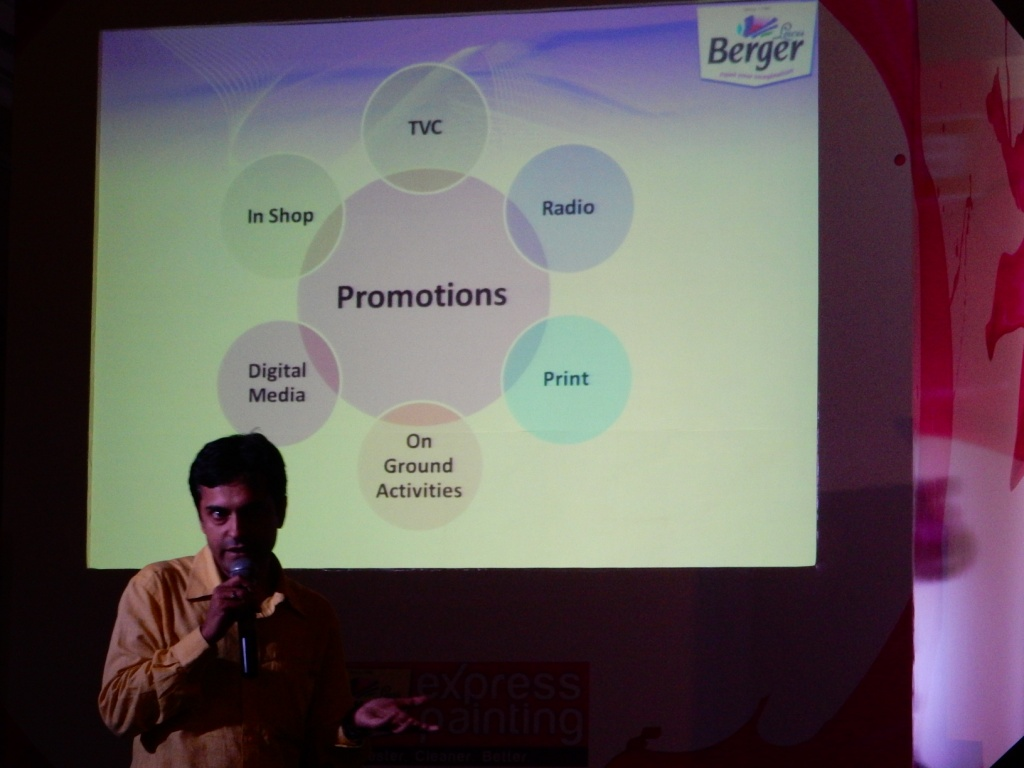 BergerXP's Promotional Strategy at the BergerXP Indiblogger Meet, Kolkata