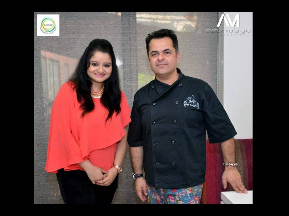 An Exclusive Interview with Celebrity Chef Vicky Ratnani !  Courtesy Circle Workshops and Events