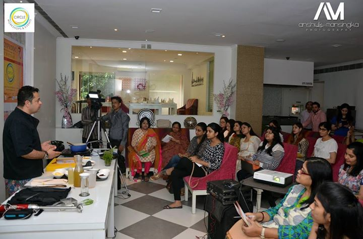 vicky ratnani workshop audience