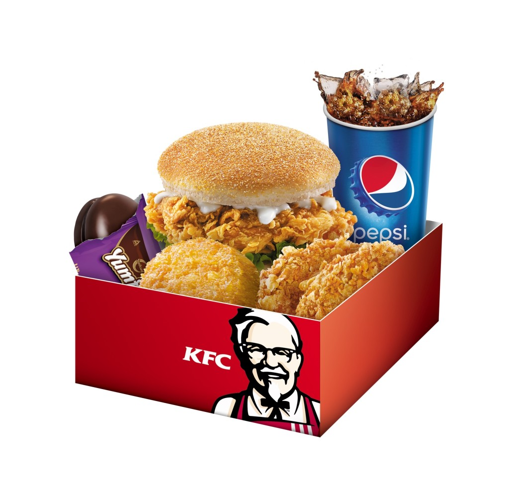 5-in-1 Box meal Zinger Burger