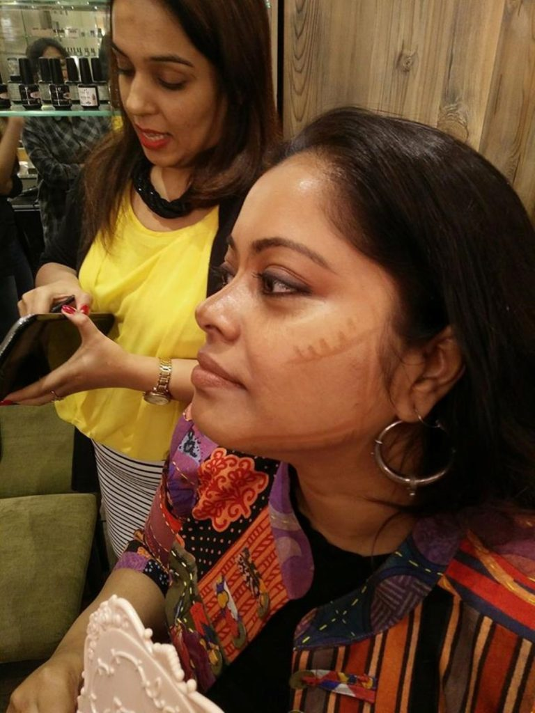 Contouring on Dolon from Poutpretty